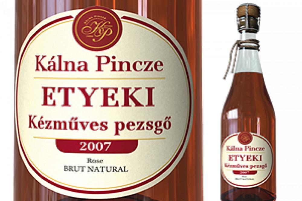 Etyeki kézműves pezsgő (rosé)